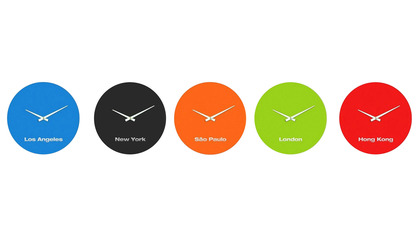 BOLLA CLOCK Global Clock Kit