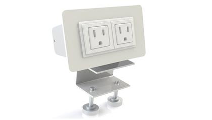 EYHOV RAIL Desk Mounted Power Unit Accessory