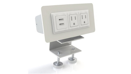 EYHOV RAIL Desk Mounted Power Unit Set Accessory