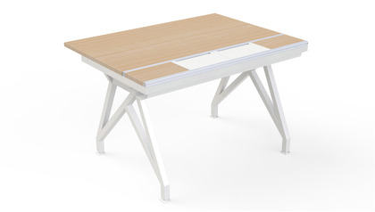 EYHOV RAIL Single Workstation - 48""