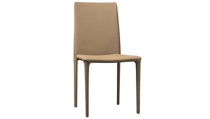 Valen Dining Chair - Set of 2 - Dark Beige