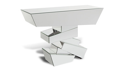 Naxos Mirrored Console Table