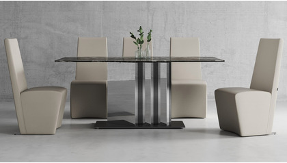 Nero Dining Table Set with Chairs