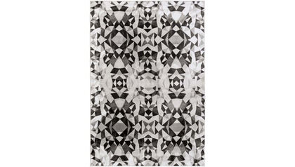 Nova Reflection Rug - Black/Gray