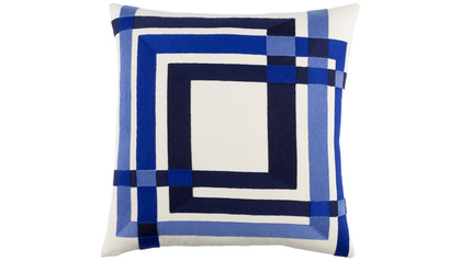 Color Form Throw Pillow