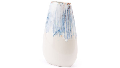 Ombre Medium Vase Blue & White