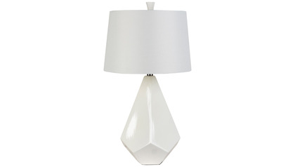 Parlaq White Table Lamp