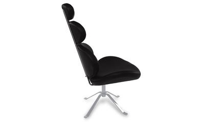 Black Pebble Chair