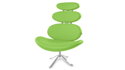 Lime Green Pebble Chair