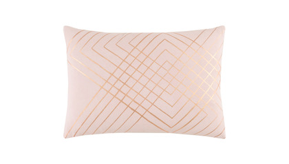 Crest Hatch Lumbar Throw Pillow