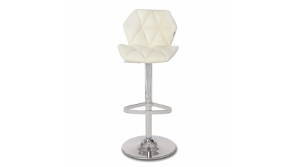 Prism Cream Bar Stool