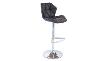 Prism Black Bar Stool