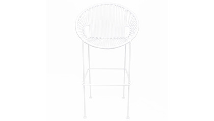 Puerto Bar Stool - White Frame