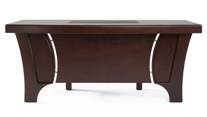 Quincy Desk with Return - Dark