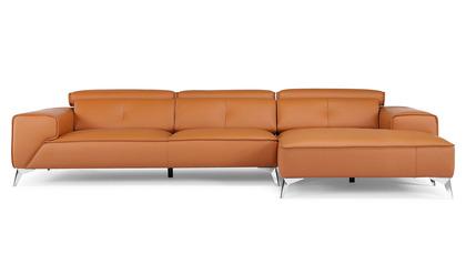 Raj Sectional - Orange