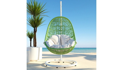 Reef Swing Chair - Lime Green