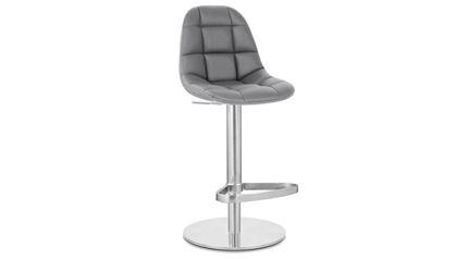 Rochelle Slate Bar Stool - Round Flat Base