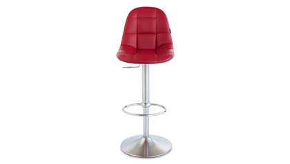 Red Rochelle Bar Stool