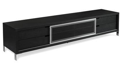 Romo TV Unit - Black Oak