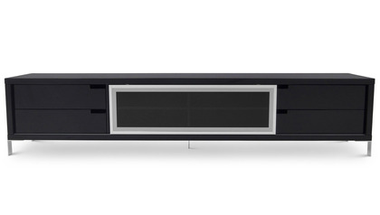 Romo TV Unit - Black Lacquer