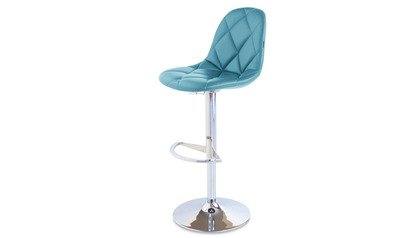 Teal Romy Bar Stool