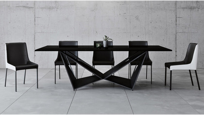 "Serra 94"" Dining Table - Smoked"