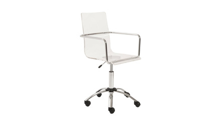 Sia Acrylic Office Chair