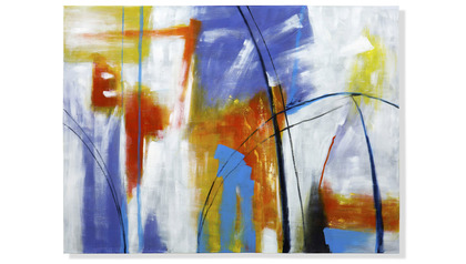 "Sky on Fire Canvas Art - 96"" x 70"""