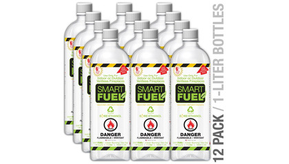 Smart Liquid Bio-Ethanol Fuel - 12 Pack