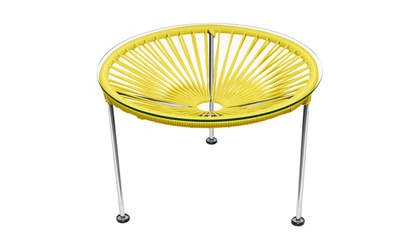 Zica Table - Chrome Frame