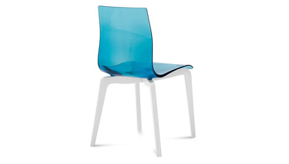 Sola Dining Chair - Set of 2 - Blue