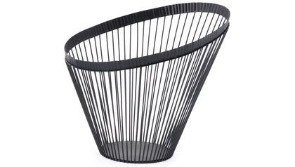 Web Metal Bowl Black