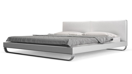 Lucca Bed - White