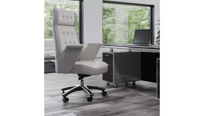 Rockefeller Leather Executive Chair