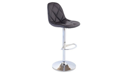 Romy Black Bar Stool
