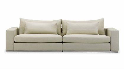 Soriano 118 Inch Sofa - Beige