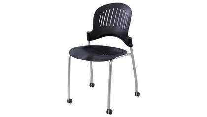 Zippi Plastic Stack Chair - 2 PC Set