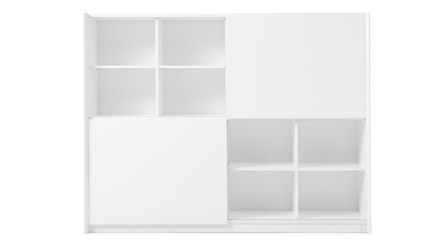 Jackson Bookcase - White