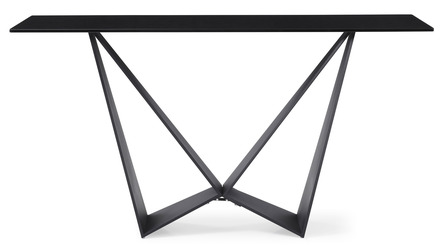 Serra Console Table - Smoked