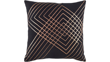 Crest Hatch Square Throw Pillow