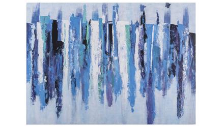 """Blue Landscape Canvas Art - 96"""" x 70"""""""