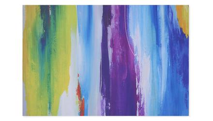 "Bombay Blur Canvas Art - 72"" x 48"""