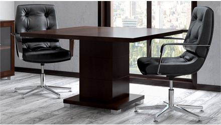 Ford Conference Table - Dark Walnut