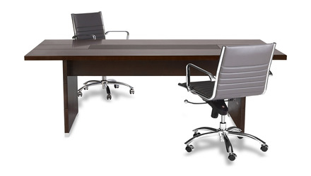 Ford Meeting Table - Dark Walnut