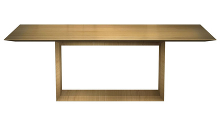 Galice 87 Inch Rectangular Dining Table - Natural Oak
