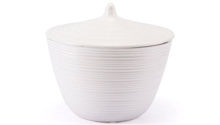 Hart Covered Jar White