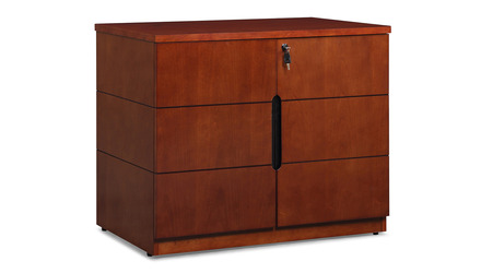 Hayes Cabinet Small - Light Walnut