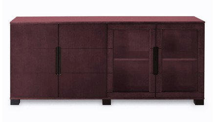 Hayes Cabinet - Mahogany