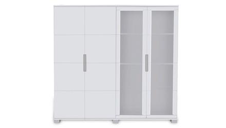 Hayes Storage Unit - White