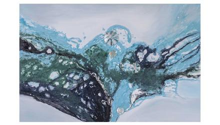 """Into the Sea Canvas Art - 72"""" x 48"""""""